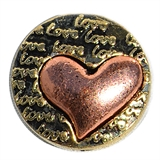 snap copper heart design