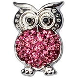 snap owl rose pink 911