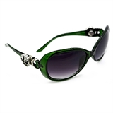 sunglass dark green