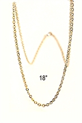 gold filed chain 18""