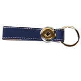 one snap key chain blue