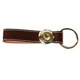 one snap key chain brown