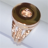 ROSE GOLD RING SIZE 9