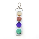 4 snap Key Chains color