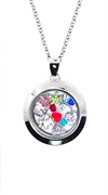 Locket Pendent Large -Silver