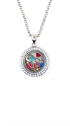 Locket Pendent Small-Silver